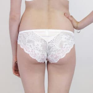 see through white lace panties back