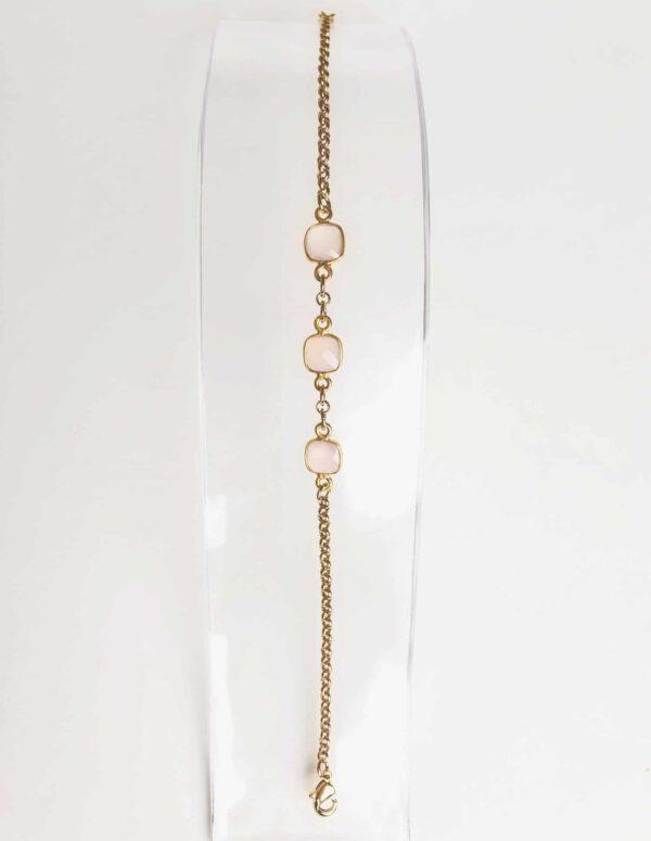 semiprecious stone in gold bracelet fine jewellery