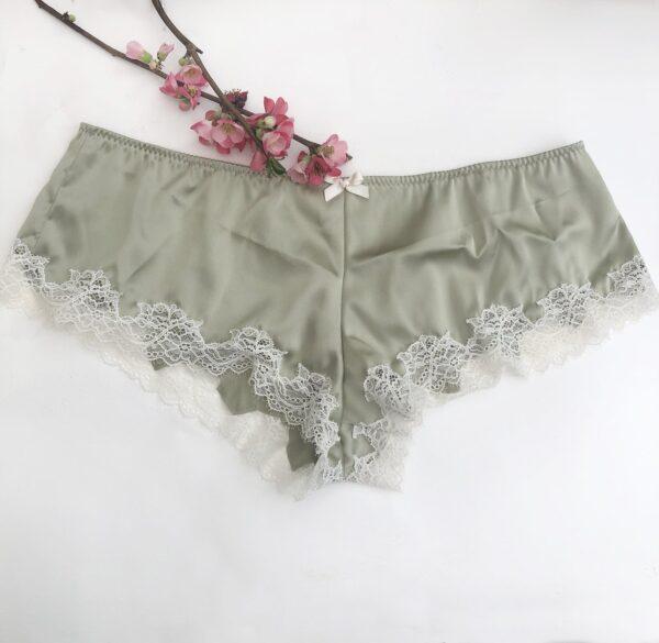 Silk green short