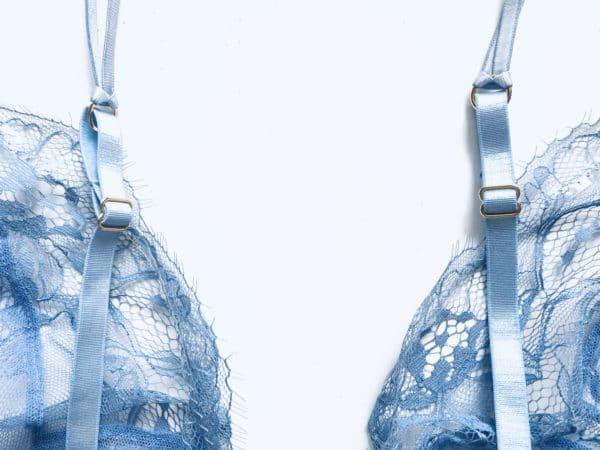 blue bra detail